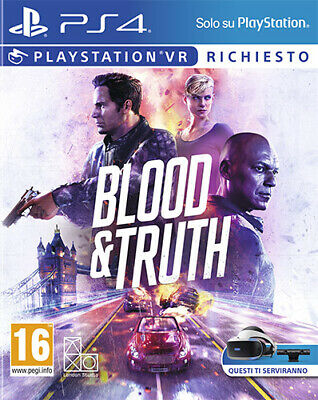 Blood & Truth (PS VR Richiesto) PS4 Playstation 4 SONY COMPUTER ENTERTAINMENT