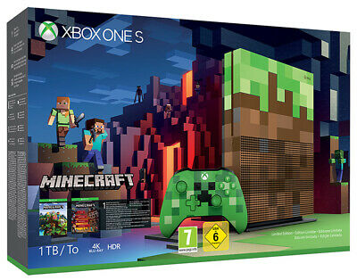Microsoft XBOX ONE S 1TB + Minecraft Limited.Edition Console MICROSOFT