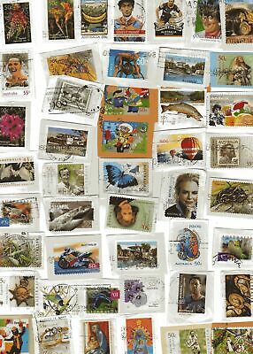 1000+ Fine Used Australian Stamps on Paper Kiloware