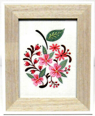 Blooming Apple - Framed Embroidery