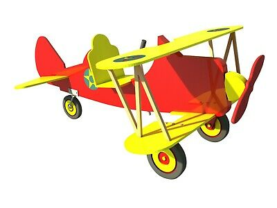 SUPER STEARMAN PEDAL Car Plans, Templates and Instructions