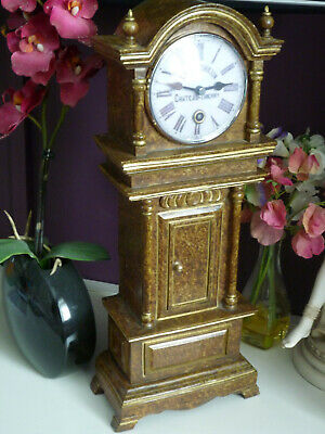 Miniature Grandfather Clock for mantel/study