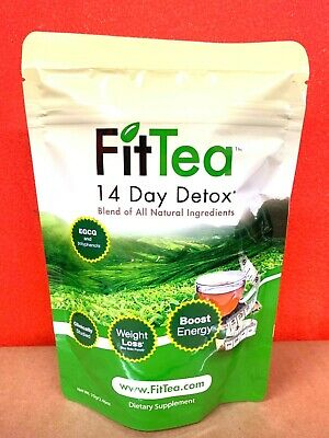 Fit Tea 14 Day Detox Herbal Weight Loss Tea- Natural Weight Loss Factory Sealed