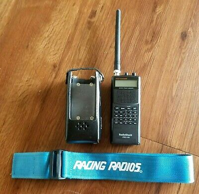 RADIO SHACK PRO 2050 Trunk Tracker 800 MHz Scanner Manual Tested