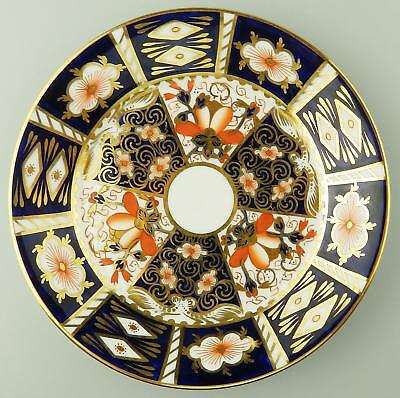 Royal Crown Derby Antique English Porcelain : An Imari Plate - C.1914