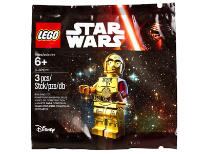 Lego Star Wars C-3PO Polybag (5002948) C3PO Droid Droïde Minifigure Figurine New