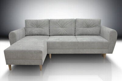Eco Leather All Colours Corner Sofa Bed