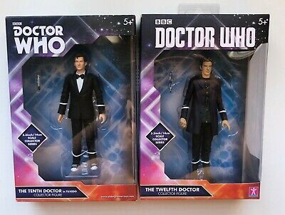 Doctor Who Bbc Pack The Tenth Doctor Y The Twelfth Doctor 14 Cm