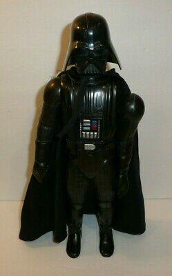 """Star Wars Vtg 1978 Darth Vader Large Action Figure 15"""" Tall LOOSE ARMS w/ Cape"""