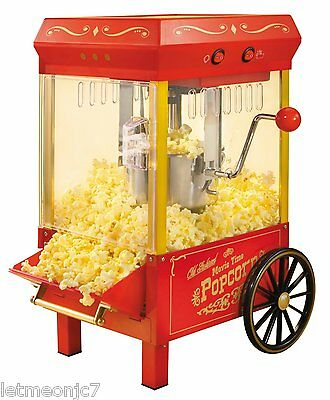Vintage Kettle Popcorn Maker Machine Cart Stand Commercial Or Home Movie Theater 79 85 Picclick