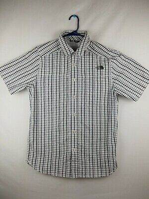dd9c7a098 THE NORTH FACE Men's Size XL Shady Blue Plaid Vent Me Short Sleeve ...