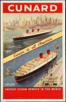 Vintage Travel Poster Tourism Posters Wall Art Picture Print New A4 A3 A2 A1