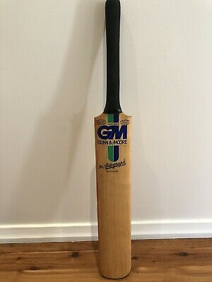 GM Gunn & Moore 'The Autograph' Vintage Cricket Bat Made In England Hand Made