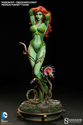 "DC Comics ~ POISON IVY ""GREEN WITH ENVY"" PREMIUM FORMAT STATUE ~ Sideshow Sealed"