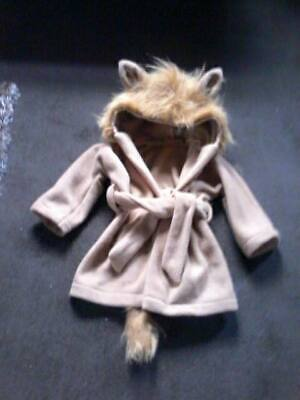 Child's / Adult Personalised Lion Dressing Gown. New. kids nightwear. Animal