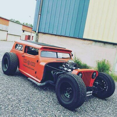 Hot rod Jeep commando