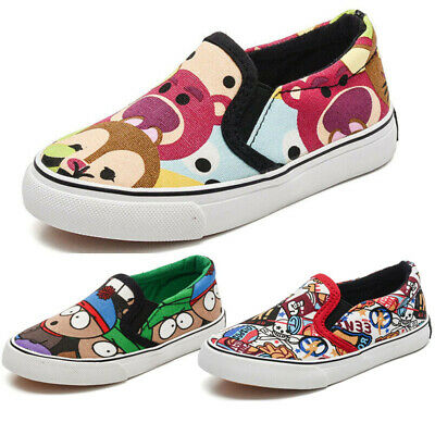 Paw Patrol Marshall Slip On Canvas Trainers Childrens Size Beach School Shoes 72