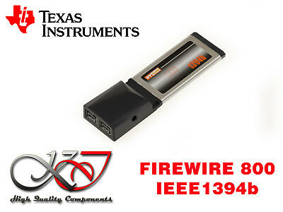 Card Expresscard 34mm - Firewire 800 IEEE1394b - Chipset Ti Texas Instruments
