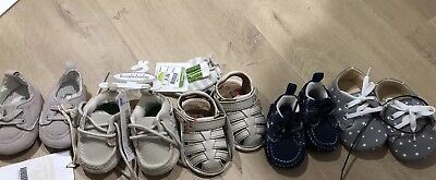 BULK brand New Baby Boys Shoes!!! Koala Baby Size 1 & 2 NB 0-3m Gift