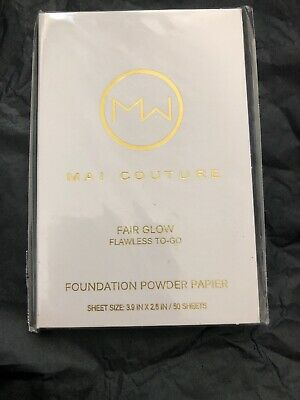 Mai Couture Foundation Powder Blotting Paper Fair Glow
