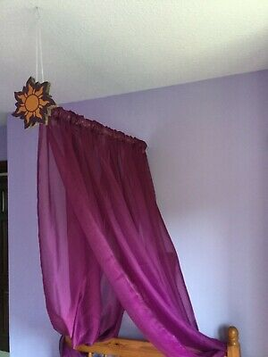 Rapunzel princess bed canopy
