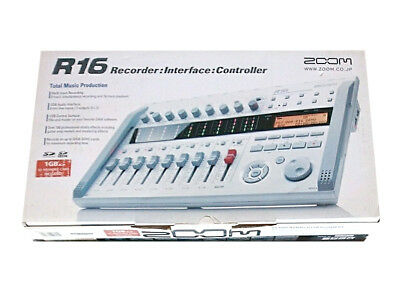 ZOOM R16 Multitrack Recorder New from Japan DHL Tracking