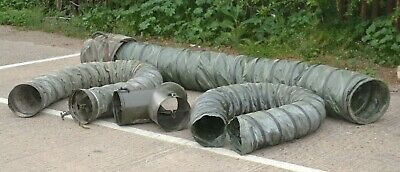 Ex MOD British Army Dantherm Heating Duct & Y-Splitters