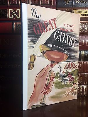 The Great Gatsby by F. Scott Fitzgerald Brand New Hardcover Elegant Cover