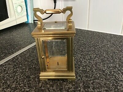 Vintage carriage clock case, used condition