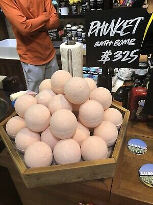 Exclusive 2019 Limited Edition Lush Phuket Bath Bomb. Only Available In Thailand