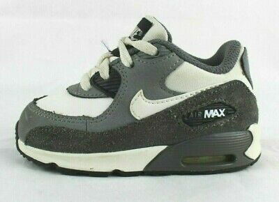 NIKE AIR MAX Girls Infant Toddler shoes size 10c. Grey