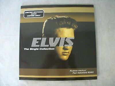 Elvis Presley Rubberneckin Singles Collection Limited To 3000 Worldwide Unplayed