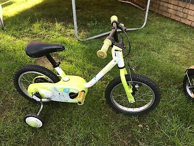 B'TWIN BY DECATHLON Children Bike With Stabalisers 14