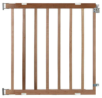 NORTH STATE IND INC Stairway Swing Gate, Wood, 28-42 x 30-In. 4630A