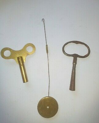 antique clock keys
