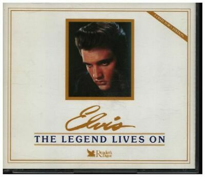 CD-BOX Elvis Presley The Legend Lives On 5 CDS IN 2 BOX SETS Readers Digest