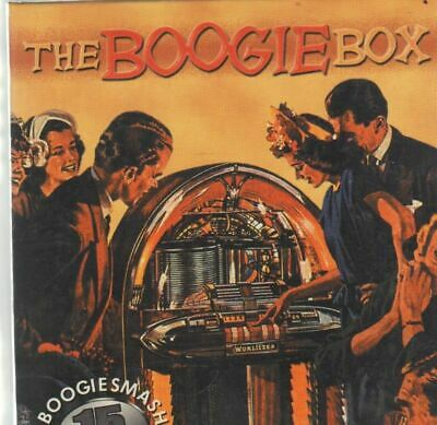 CD-BOX Albert Ammons, Count Basie, Pete Johnson a.o. The Boogie Box 15 CD BOX