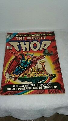 1974 The Mighty Thor Giant Issue #3 Comic Book Marvel Treasury Edition