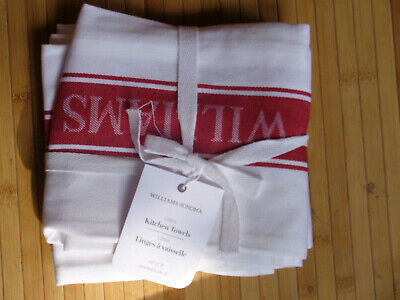 Sonoma Rust /& Cream Horizontal Stripes Knit Top Kitchen Towels