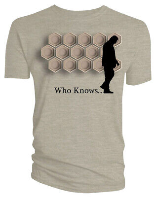 Doctor Who Classic Mens T-Shirt Doctor Who Classic Who Knows Sand M