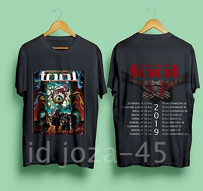 TOOL Band 2019 Tour with dates Men's Black T-Shirt Size S-XXL