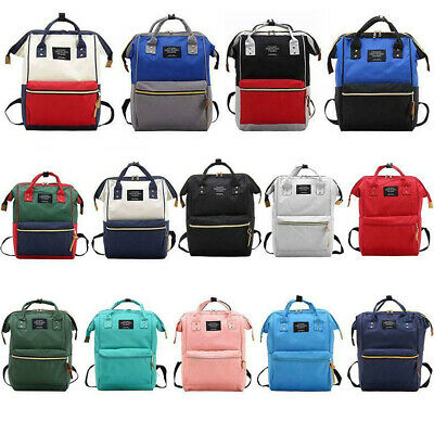 Large Capacity Waterproof Baby Diaper Bag Mummy Maternity Travel Stroll Backpack