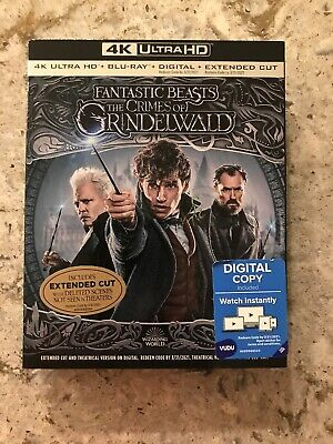 Fantastic Beasts The Crimes of Grindelwald 4K Ultra HD+Blu-Ray+Digital+Extended