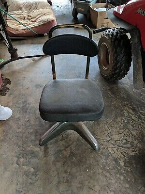 Vintage Cosco  Industrial Swivel Adjustable Rolling Office Chair
