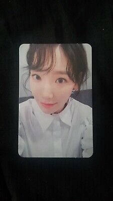 Girls' Generation SNSD Taeyeon My Voice Deluxe Edition  Photocard