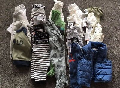 BABY BOYS BULK BUNDLE SIZE 00 | 3-6 Mths