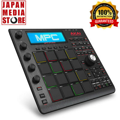 AKAI Professional MPC Studio Black MIDI Interface Pad Controller 100% Genuine