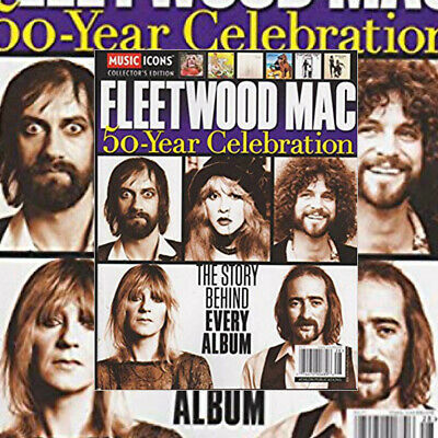 Music Icons Collector's Edition Magazine Fleetwood Mac 50 Years Brand New 2018..
