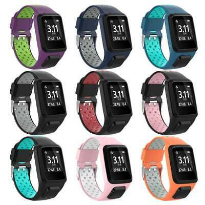 Replacement Silicone Band Strap forTomTom Runner 2  3 Spark 3 Golfer GPS Watch