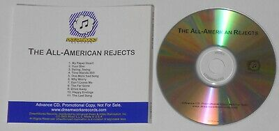 The All-American Rejects - selftitled U.S. promo cd  -Rare!